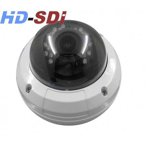 Mini Domo SDI IP 2,1MP IR 20 mts. 2.8-12mm.