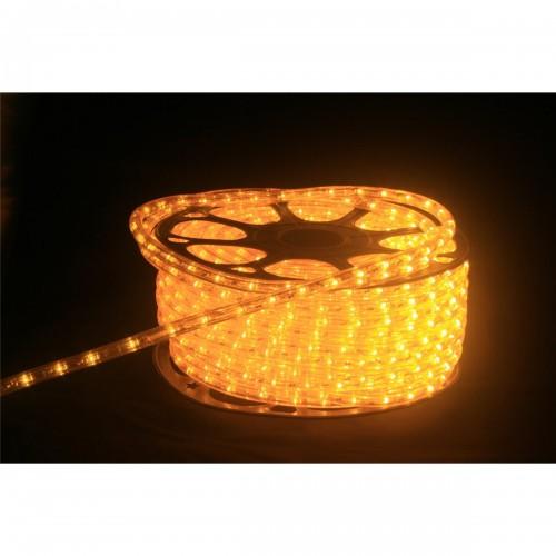 Hilo luminoso LED Y PVC AMARILLO INTENSO Horizontal corte 0,5m 50m 220v