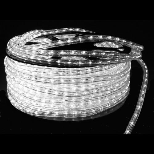 Hilo luminoso led Blaco 6000K exterior 48 leds/m corte 1m 220V bobina 50m