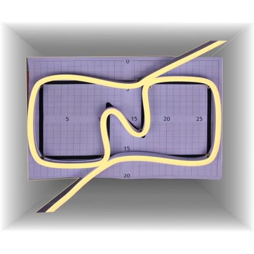 Neon led al corte flexible simple 12V 3000K 6mm 8W