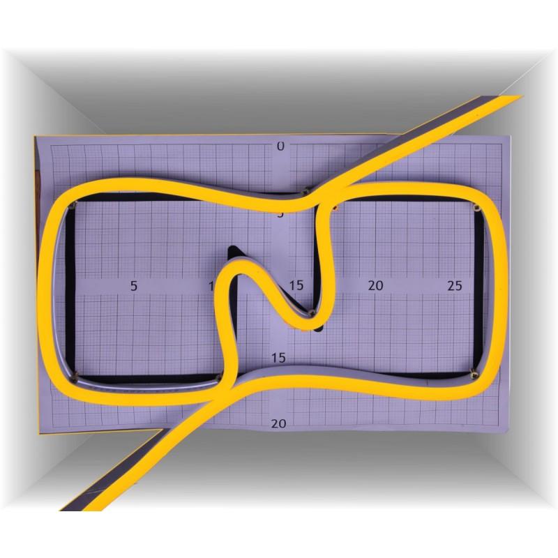Neon led al corte flexible simple 12V 2700K 6mm 8W