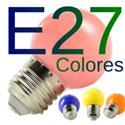 Bombilla LED E27 Colores