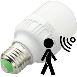 Bombillas LED con detector