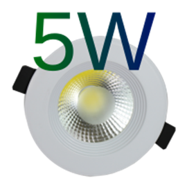 Downlight LED COB 5W