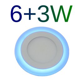 Downlight LED 6+3W