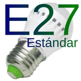 Bombilla LED E27 estandar
