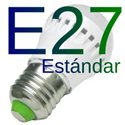 Bombilla LED E27 estandar