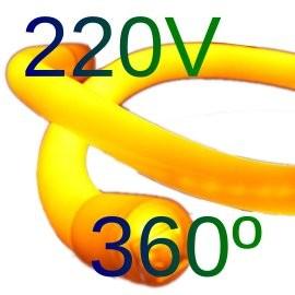 Neon led circular 360º