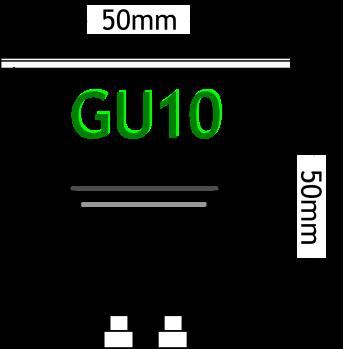 conector GU10