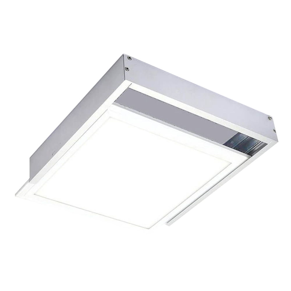 Soporte panel led superficie