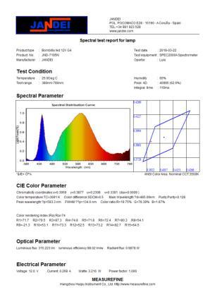 medicion JND-7295N