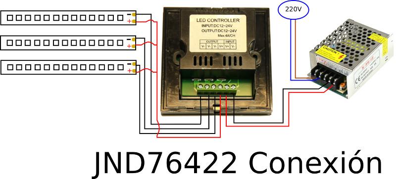 JND-76422 conexion