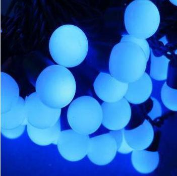 guirnalda led azul