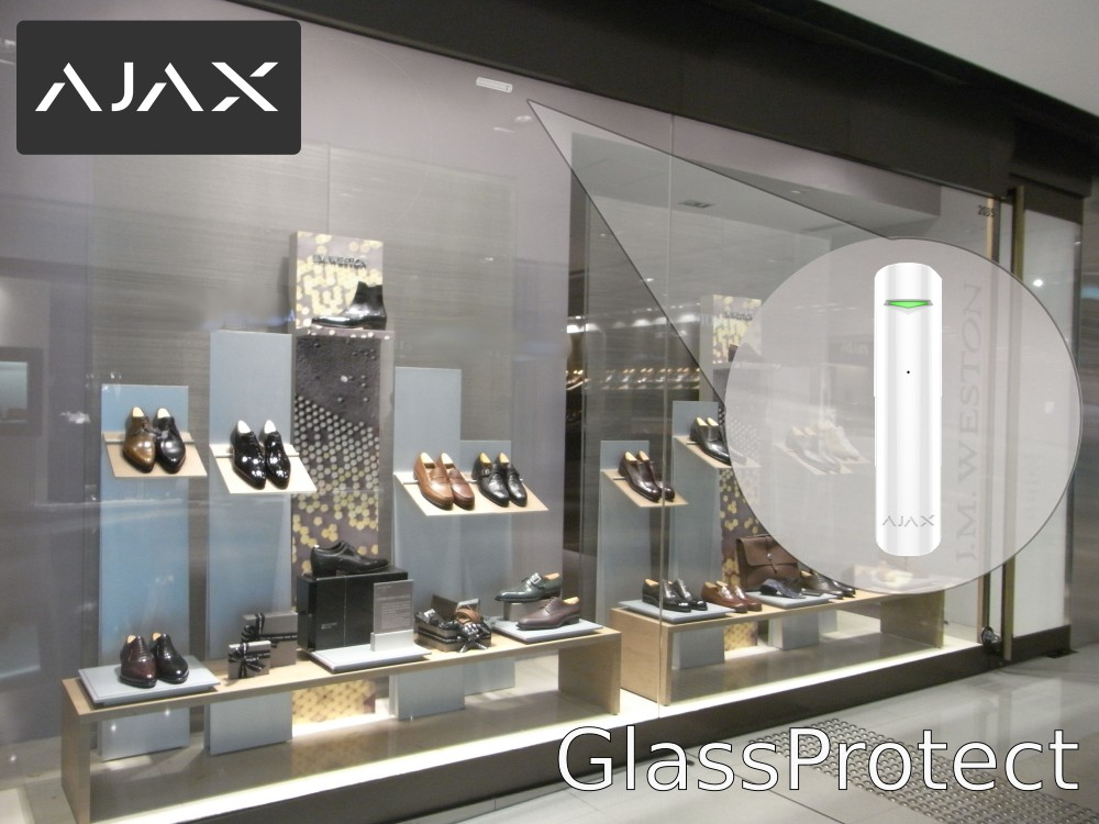 AJAX GlassProtect rotura de cristal