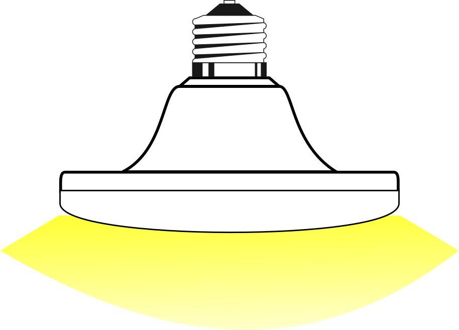 bombilla led E27 UFO 15W 3000K