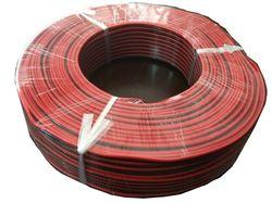 Cable rojo y negro