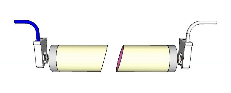 Tubo T8 G13 conexion 2 lados