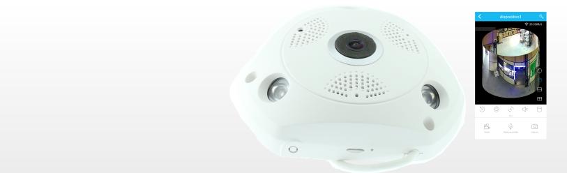 Camara IP 360º WIFI